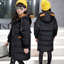 $enCountryForm.capitalKeyWord NZ - Childrens Leisure Down Jacket Girls More Long Down Oveat Big Boys Winter Coats Keep Warm Overcoat Down Jacket boys girls clothes
