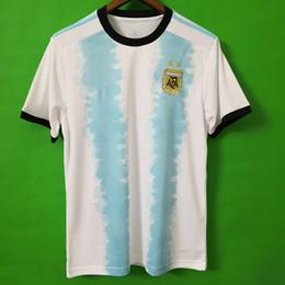 Chinese  Thailand Argentina soccer jersey copa america 2019 2020 new season MESSI DYBALA HIGUAIN ICARDI Camisetas de futbol football soccer shirt kit manufacturers