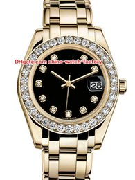 DiamonD gem stone online shopping - 12 Style Topselling High Quality mm mm Pearlmaster Datejust Diamond k Gold Asia Mechanical Automatic Ladies Watch Women Watches