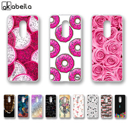 cheap white roses Australia - Cheap Fitted Cases AKABEILA Soft TPU Fitted Cases For Vodafone Smart N9 Case 5.5 inch Nutella Flamingo Tetris Painted Shell Skin