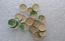 Suzuki logoS online shopping - 50pcs D mm aluminum Car logo Key Emblem button M Sticker for BMW Folding Keys