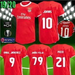 13b8f378a82 new 2019 2020 Benfica JONAS soccer jersey 19 20 HOME AWAY JOAO FELIX RAFA  Pizzi Salvio SEFEROVIC JONAS Raul Jimenez GRIMALDO FOOTBALL SHIRTS
