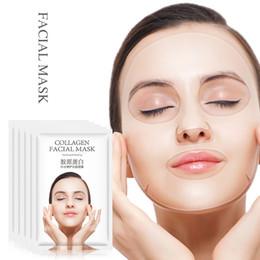 $enCountryForm.capitalKeyWord Australia - FUZIMEI Collagen Crystal Facial Mask Dydrating Moisturizing Repairing Brightening Shrinking Pore Korean Sheet Mask Skin Care