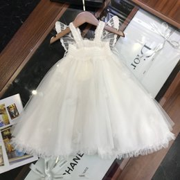 Fashion Trends Lace Dress Australia - Children suits clothing latest summer fashion trend refreshing casual ultra-thin breathable brand girls lace skirt dress