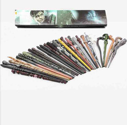 Harry Potter COS Hot venda Novo Harry Potter magia Magic Wand Deathly Hallows Hogwarts presente varinha Gift Box Voldemort Packing em Promoção