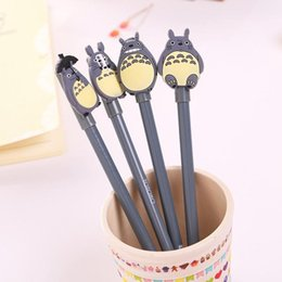 $enCountryForm.capitalKeyWord Australia - 0.5mm Cute Kawaii Cartoon Totoro Gel pens Creative Korean Stationery For Kids Children Students Office School Supplies Marerials DHL