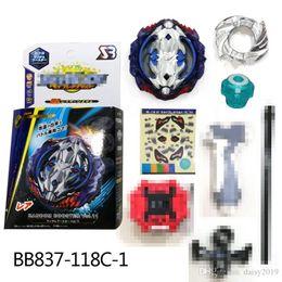 $enCountryForm.capitalKeyWord NZ - 4D Beyblade Burst BB837-118C-1 random booster gyro Spinning top Sword Launcher Anime Toy Gifts For Kids bayblade burst arena