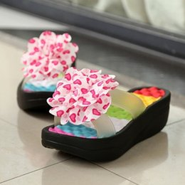 Woman sWing sandals online shopping - 2018 Hot Summer Women S Flip Flop Sandals Platform Flip Flops Slippers Sandals Swing Wedges Women Hole Shoes Plus Size H0199