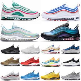 $enCountryForm.capitalKeyWord Australia - High Quality Laser Fuchsia SH Kaleidoscope SEOUL London Summer of love Running Shoes For Men Women SE Mens Trainers Designer Sports Sneakers