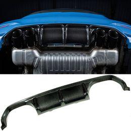 $enCountryForm.capitalKeyWord NZ - Car surrounded P Style Carbon Fiber Rear Lip Diffuser Spoiler Apron F80 M3 F82 M4 Fit For BMW
