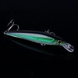 Fishing Bait 11cm Australia - 1pcs Laser Minnow Fishing Lure 11cm 13g Hooks Fish Wobbler Tackle Crankbait Artificial Japan Hard Bait Swimbait