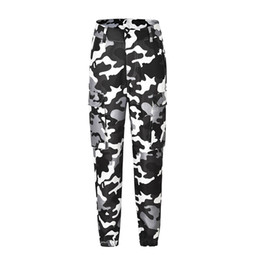 size camouflage leggings UK - 2019 new ripped jeans for women plus size women trousers Camouflage printed leggings jeans leggings woman(belt not include