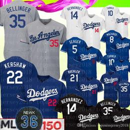 Machado jersey online shopping - 35 Cody Bellinger Los Angeles Men s Dodgers Jersey Clayton Kershaw Corey Seager Turner Enrique Hernandez Machado Baseball