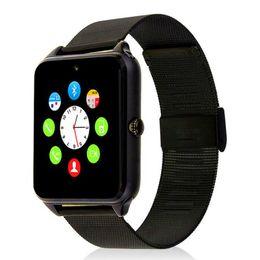 $enCountryForm.capitalKeyWord NZ - Z60 Smart Watch Bluetooth Android IOS Phone Call 2G GSM SIM TF Card Camera Smartwatch Twitter Facebook PK GT08
