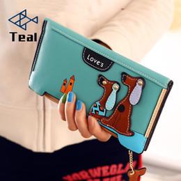 $enCountryForm.capitalKeyWord Australia - Wallet Women Cute Wallet Cartoon 3d Long Zipper Purse Dogs Ladies Clutch Card Holder More Colors Leather Wallet 2019 Fashion MX190719