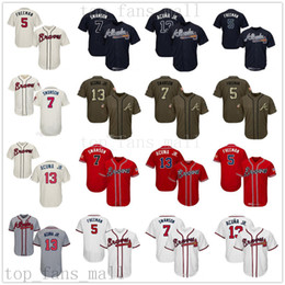 $enCountryForm.capitalKeyWord Australia - Men Women Youth Braves Jersey 5 Freddie Freeman 7 Dansby Swanson 13 Ronald Acuna Jr Grey Navy Red Salute to Service Players Weekend All-Star