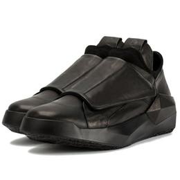 03c6883ecc5 Korean Spring New Men Genuine Leather Casual Sneakers Gothic Thick Platform Punk  Shoes Male Hip Hop Dancing Trainer Footwear