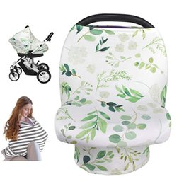 used baby car seats Canada - Nursing Cover Breastfeeding Scarf Car Seat Covers for Babies Stroller Soft Breathable Multi-Use Cover Mom & Baby Supplies