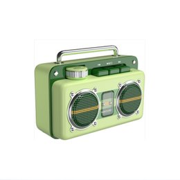 reader apple NZ - The 100 Leaf Double Bluetooth speaker is retro, lovely, mini, large volume, retro, green, outdoor, portable, portable stereo