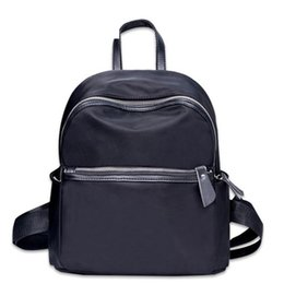 Backpack Solid Australia - good quality Casual Solid Color Oxford School Backpack For Teenage Girls High Quality Backpack Female Travel Rucksack