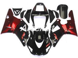 $enCountryForm.capitalKeyWord Australia - New ABS Compression Mold motorcycle plastic Fairings Kits Fit For YAMAHA YZF-R1-1000 1998-1999 98 99 Fairing bodywork set red black