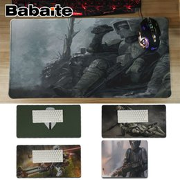 Wholesale Babaite In Stocked Scout Trooper Customized MousePads Computer Laptop Anime Mouse Mat Unique Desktop Pad Game Lockedge Mousepad