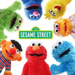$enCountryForm.capitalKeyWord Australia - Childrengift 36cm Sesame Street Elmo Plush Toys Soft Stuffed Doll Red Animal Stuffed Toys christmas Gifts For Kids toys