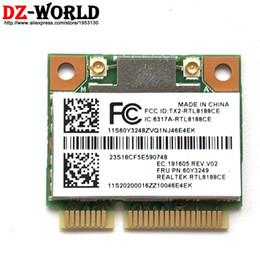 $enCountryForm.capitalKeyWord NZ - Wireless card 60Y3249 RTL8188 WLAN WIFI b g n For Lenovo ThinkPad T420 T420S T430U X220 T430 X230 E430 E530 X140e E130 X131e