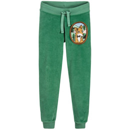 56df902a57429 Children Winter Pants for Boys Green Fox Joggers 2019 Brand Girls Pants Kids  Tracksuit Trousers Velour Fleece Baby Girl Leggings