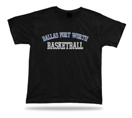 Discount usa basketball t shirts - Dallas Fort Worth USA BASKETBALL t-shirt tee warm up style court side designFunny free shipping Unisex Casual Tshirt top