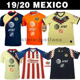 ccba31c46 New 2019 Chivas de Guadalajara Home Jerseys Soccer Jerseys 19 20 MEXICO  Club America Tigres UNAM 2020 LIGA MX Cruz Azul Football Shirts