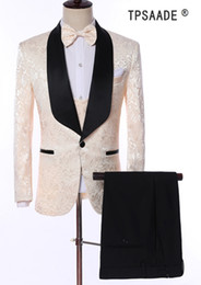 $enCountryForm.capitalKeyWord Australia - 2019 Men Wedding Suits Pants 3 Piece Suits Men Tuxedo Man Suits Slim Fit Prom Costume Homme Coat Blazer (jacket+pants+vest) Y190418