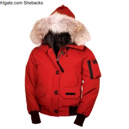 boys winter bomber jacket Canada - XS-2XL free shipping women high quality winter White G00SE Down jacket Bomber Jacket Outdoor climbing Down Jacket Women s Clothing
