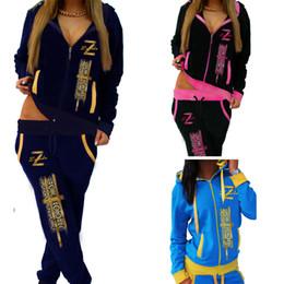 Discount batik art - women's European and American cross-border special offer for casual casual knit sportswear suit female Women Clothe