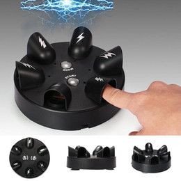 $enCountryForm.capitalKeyWord Australia - Fashion New Durable Six-Finger Position Electric Shock Tricky Toy With Bottom Suction Cup New Fashion Durable Electric Finger Shocking Game