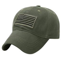 Special forceS baSeball capS online shopping - Baseball Cap Cotton Casquette Hat Men Women Unisex Trucker Camo Hat Special Tactical Operator Forces USA Flag Patch Jungle Cap