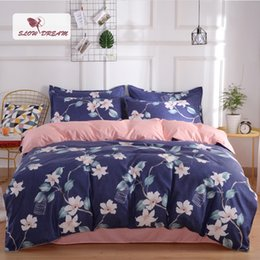 Home & Garden Janeyu Home Textile Source Plant Cashmere Thickening And Grinding Four Kit Bed Products Bedding Sets
