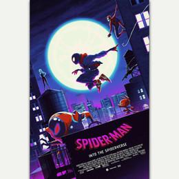 $enCountryForm.capitalKeyWord Australia - Spider-Man Into the Spider-Verse Movie wall decor Art Silk Print Poster 686868