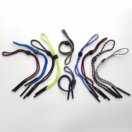 Ingrosso Eyewear regolabili robusti catene di occhiali da vista Strap Strap TERRA CORDI TERRA CORDS SUNGLASS STUGLINE CON SLIC-IN SILICONE TEVOLE END VELACCO SPECIALE cordino cordino