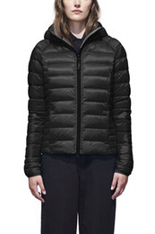 knit hats women patterns UK - Thin Women men's Parkas LONG WINTER CANADA G-Brand BROOKVALE-HOODED-2 Down & Parkas WITH HOOD Snowdome jacket White Duck Outerwear & Coats