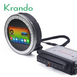 "Mini Digital Audio Australia - Krando 7"" Android 8.0 car dvd radio audio palyer multimedia system for BMW Mini Cooper 2006-2013 gps navigation"