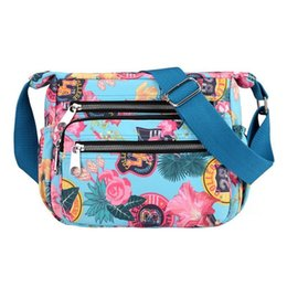 cc75aaaeac Women Fashion Crossbody Bag New Nylon Printed Shoulder Messenger Waterproof  Dumplings Shape Hand Bags Handbag Handbags Lady Bag
