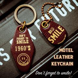 Discount handmade cowhide bags - Mini Holder Bag Real Cowhide Genuine Leather Keychain Pocket for Car Keys Clip Ring Women Men Handmade Accessories Gift