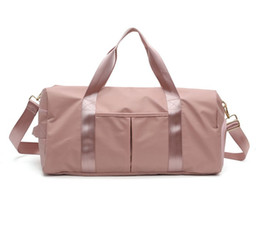 Shoulder Shoes Australia - Fashion Large Capacity Shoulder Bags For Women Shoes Tas Travel Bags Waterproof Nylon Bags Dry Wet Women's Handbags