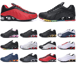 $enCountryForm.capitalKeyWord Australia - Fashion men shox deliver NZ R4 top designs for women basketball running dress sneakers sport lady crystal lace flat casual shoes best sale