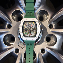 Mechanical Supply Australia - 2019 new good watch foreign trade hot style watch export rubber men's watch manufacturers spot supply Fully automatic mechanical flywheel