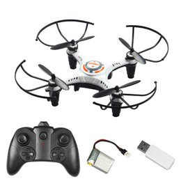cheap micro camera UK - Drones Rc Helicopter Mini Rc Drone Without Camera Toy Profissional 6ch Selfie Cheap White Black Foldable Micro Quadrocopter Toy
