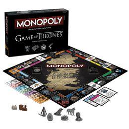 Vente en gros Monopoly Game of Thrones Conseil Carte Thème Fast Dealing Jeux de Trading de Propriété Idéal Cadeau ou Activité Pour Les Fans Cartes