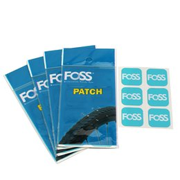 Road Bicycle Tires Australia - 6pcs Foss Bicycle Tire Patches tyre repair Inner Tube MTB Road Bike Dedicated Quick Fix self-adhesive High quality Tool For Bike