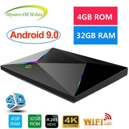 $enCountryForm.capitalKeyWord Australia - 1 PCS Smart Android 9.0 TV Box Allwinner H6 4GB 32GB USB3.0 2.4G WiFi VP9 HDR10 4K 6K Google Player Store Netflix IPTV media player